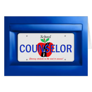 Counselor License Card