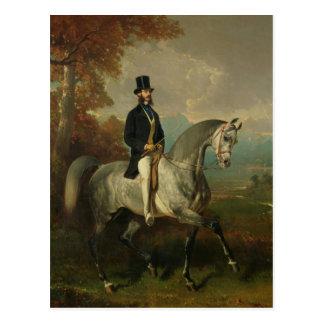 Count Alfred de Montgomery  1850-60 Postcard