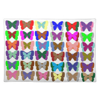 COUNT Butterflies n also LEARN Colors - Kid Stuff Place Mats