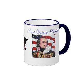 Count Casimir Pulaski Coffee Mugs
