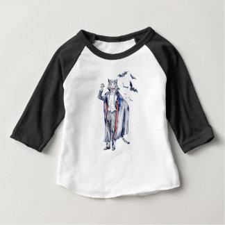 Count Catula Vampire Cat Baby T-Shirt