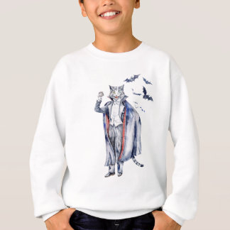 Count Catula Vampire Cat Sweatshirt