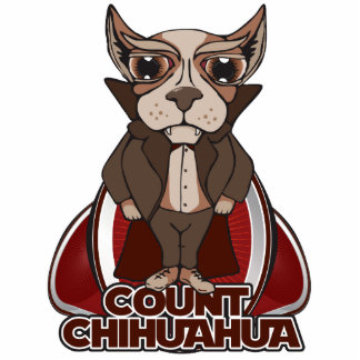 Count Chihuahua Sculpture Standing Photo Sculpture