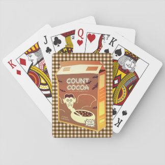 Count Cocoa Cereal Box playing cards