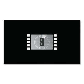 Count Down 9 Magnetic Business Cards