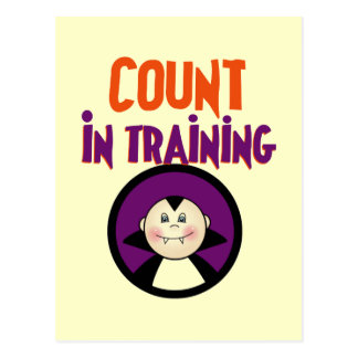 Count in Training Tshirts and Gifts Postcard