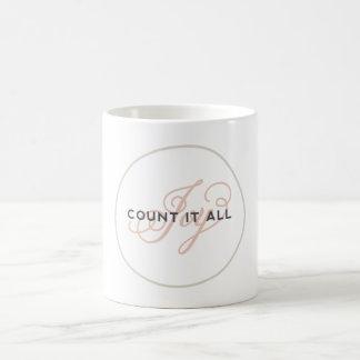 Count It All Joy Scripture Inspired Coffee Mug