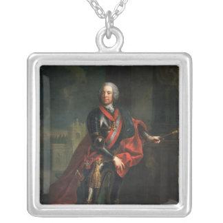 Count Leopold Joseph von Daun Silver Plated Necklace