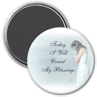 Count My Blessings Magnet