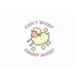 COUNT SHEEP POSTCARD