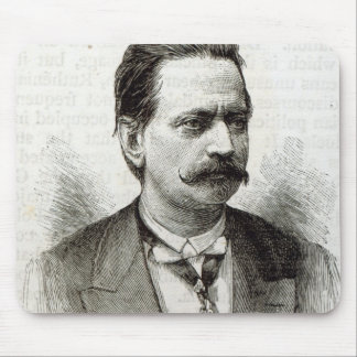 Count Taafe, from 'Leisure Hour', 1891 Mouse Pad