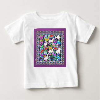 COUNT the birds animals butterfCli3y Baby T-Shirt