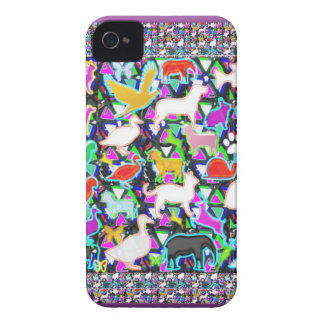COUNT the birds animals butterfCli3y Case-Mate iPhone 4 Case