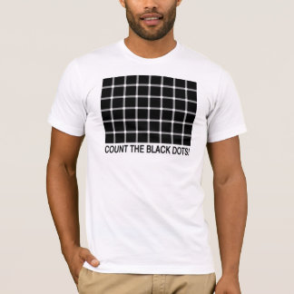 Count the Black Dots interactive shirt! T-Shirt