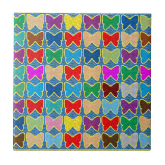 Count the BUTTERFLIES KIDS Template add text photo Tile