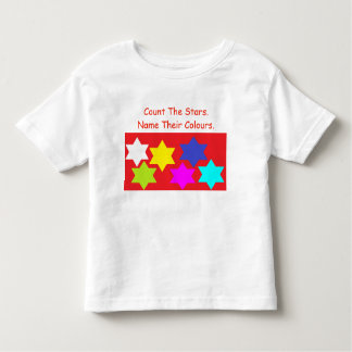 'Count the Stars & Alphabet Baby T-Shirt' Toddler T-Shirt