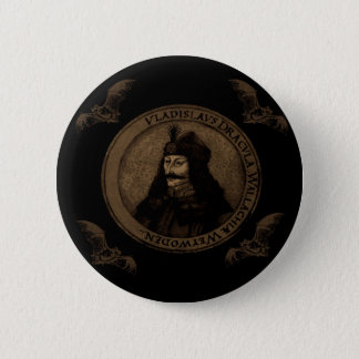 Count Vlad Dracula 6 Cm Round Badge