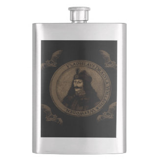 Count Vlad Dracula Hip Flask