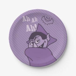 Count von Count - Ah Ah Ah! Paper Plate