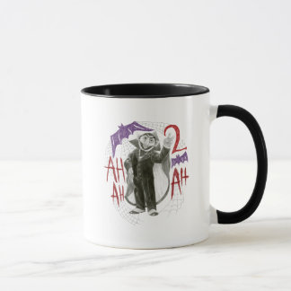 Count von Count B&W Sketch Drawing Mug