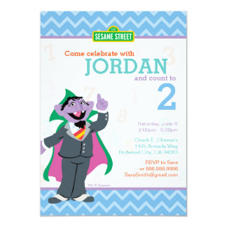 Count von Count Birthday Card