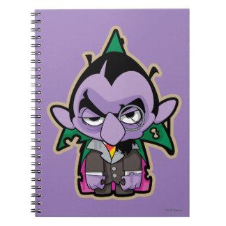 Count von Count Zombie Notebook