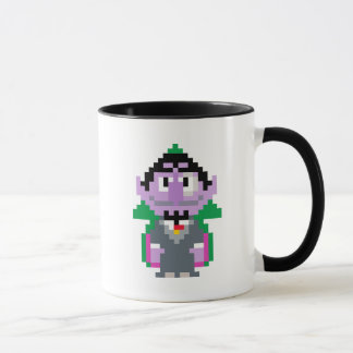 Count von Pixel Art Mug