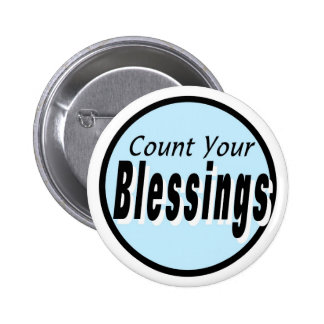 Count Your Blessings Button