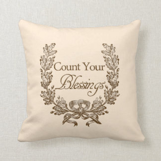 Count Your Blessings Cushion