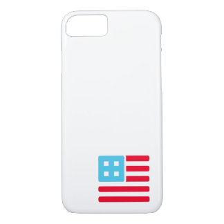 Countable Flag Corner iPhone 7 Case