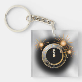Countdown to the New Year Key Ring
