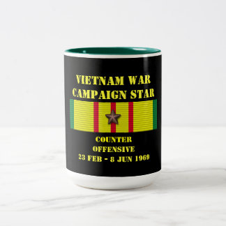 Counter - Offensive Tet 1969 Campaign Two-Tone Mug