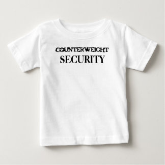 counterweight, SECURITY Baby T-Shirt
