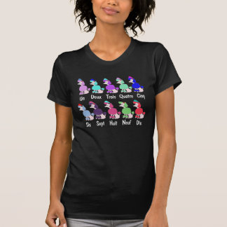 Counting French Poodle T-Shirt