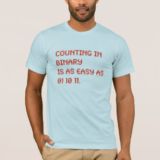 counting in binary T-Shirt
