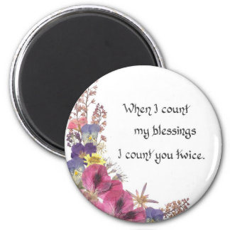 Counting my Blessings Magnet