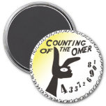 Counting of the Omer 7.5 Cm Round Magnet