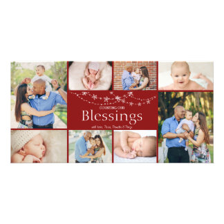 Counting Our Blessings | Christmas Photo Card