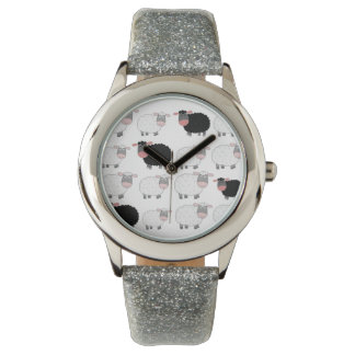 Counting Sheep Wrist Watches