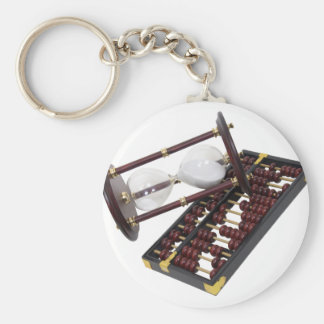 CountingTime093009 copy Basic Round Button Key Ring