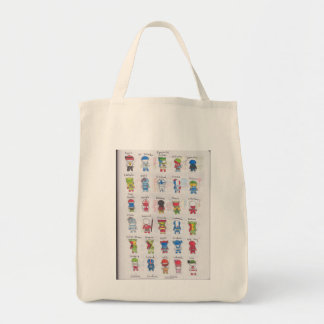 Countries of the World Egypt-Iran Tote Bag