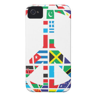 Countries Peace Symbol Case-Mate iPhone 4 Cases