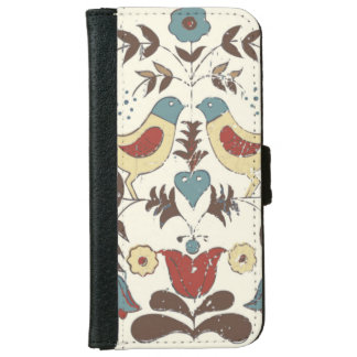 Country Americana Birds Amish iPhone 6 Wallet Case