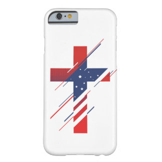 Country and Creed - USA Barely There iPhone 6 Case