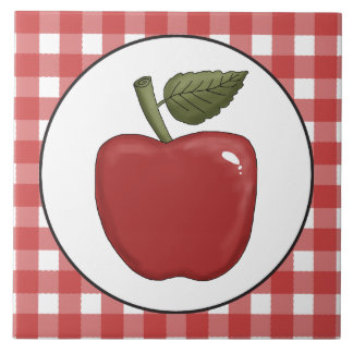 Country Apple fruit fun tile