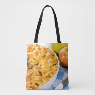 Country Apple Pie Tote Bag