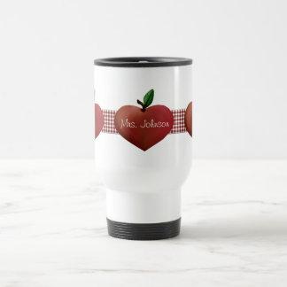 Country Apples Teacher's Travel Mug