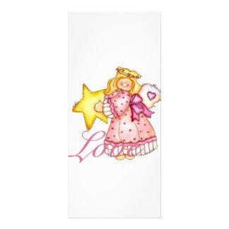 Country Art Star Girl - Love 10 Cm X 23 Cm Rack Card