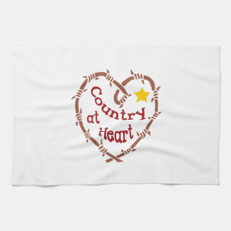 COUNTRY AT HEART HAND TOWELS