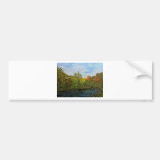 Country Autumn Bumper Sticker